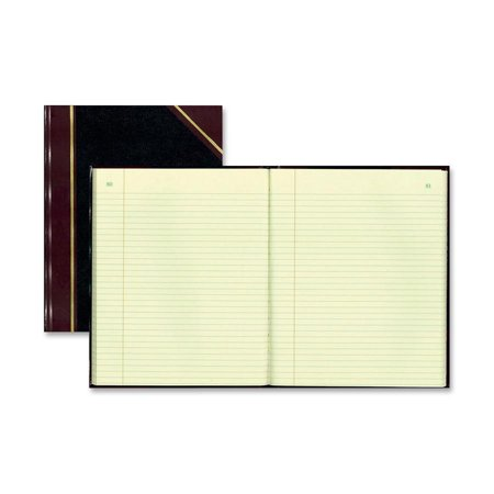 Rediform, RED56211, Black Texhide Cover Record Books, 1 Each,