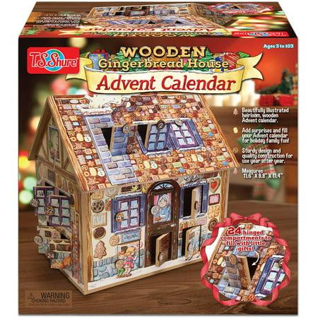 T S Shure Gingerbread Deluxe Wooden