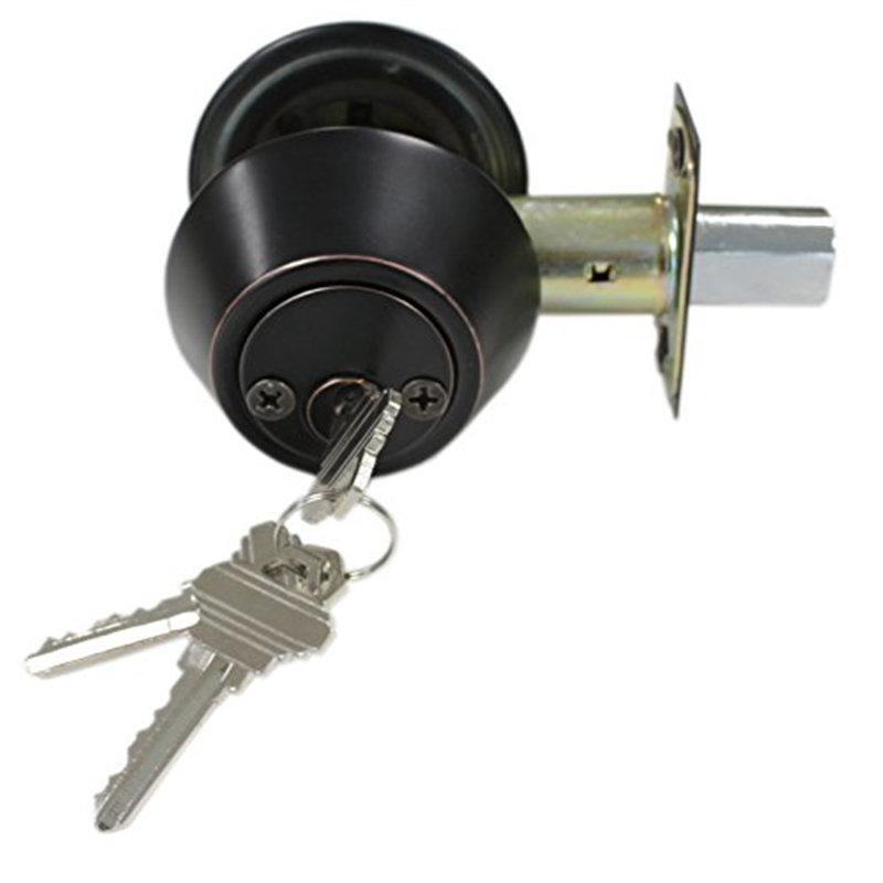Probrico Double Cylinder Deadbolt in Oil Rubbed Bronze