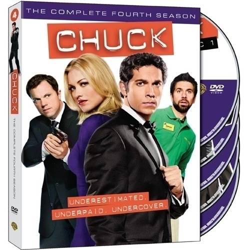 Chuck: The Complete Fourth Season (Widescreen)