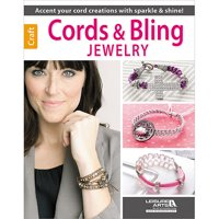 Leisure Arts-Cords & Bling Jewelry, Pk 1, Leisure Arts