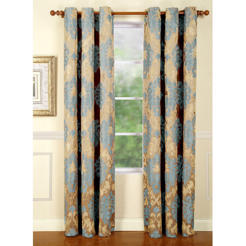 Home Fashions International Casablanca Curtain Single Panel