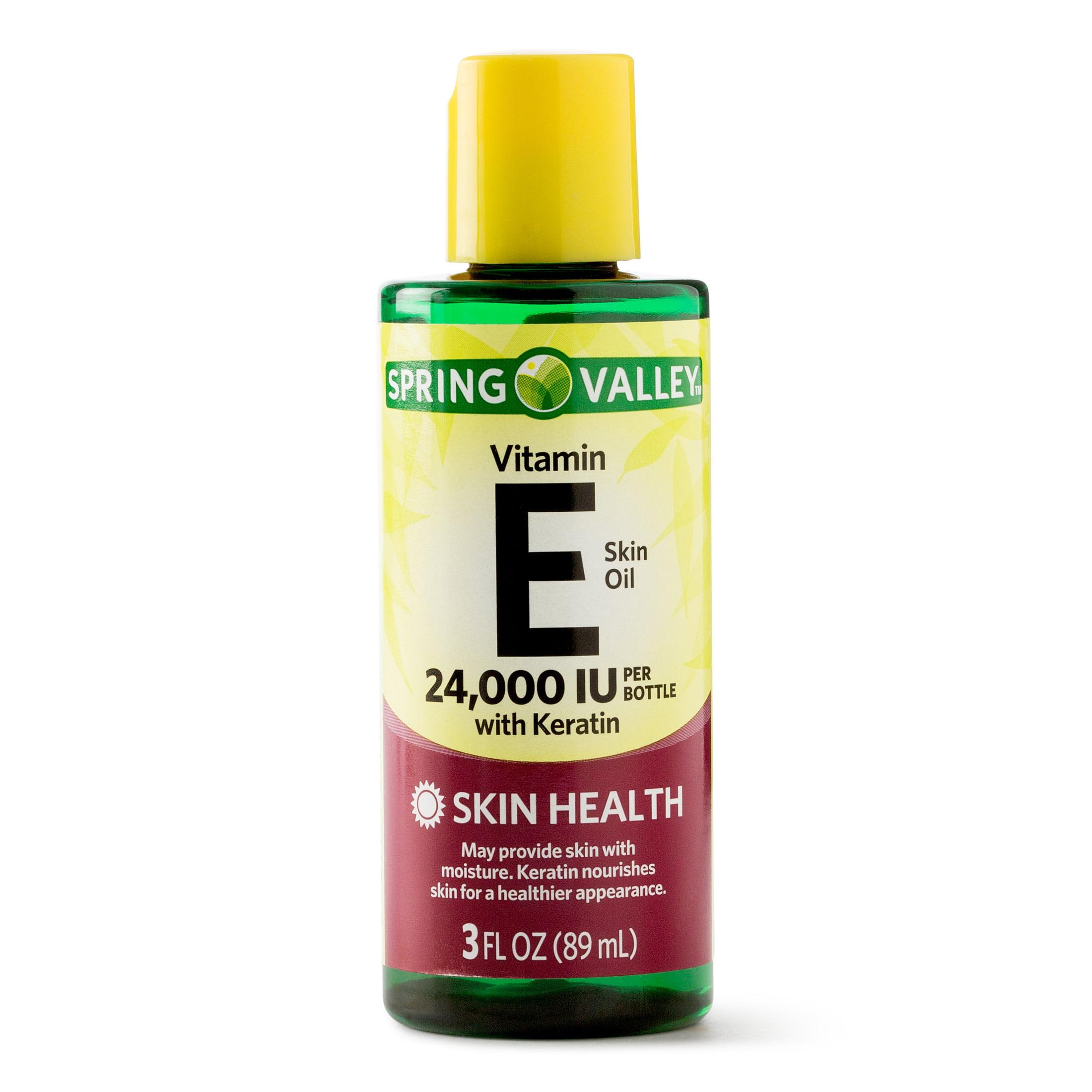Spring Valley Vitamin E Skin Oil, 24000 IU, 3 Oz