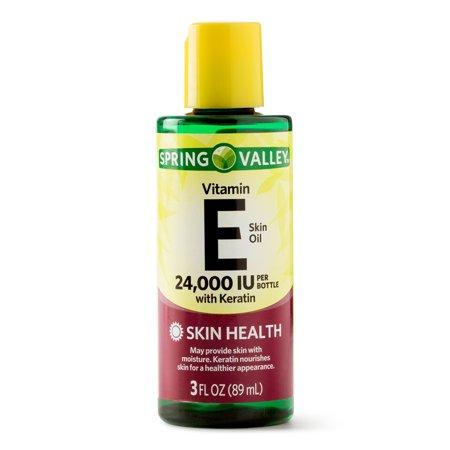 - Spring Valley Vitamin E Skin Oil, 24000 IU, 3 Oz