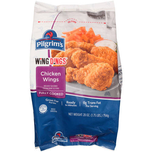 Pilgrim's Wing Dings Chicken Wings, 28 oz