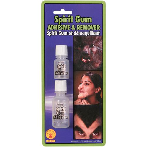 Spirit Gum and Remover Rubies 18157, One Size
