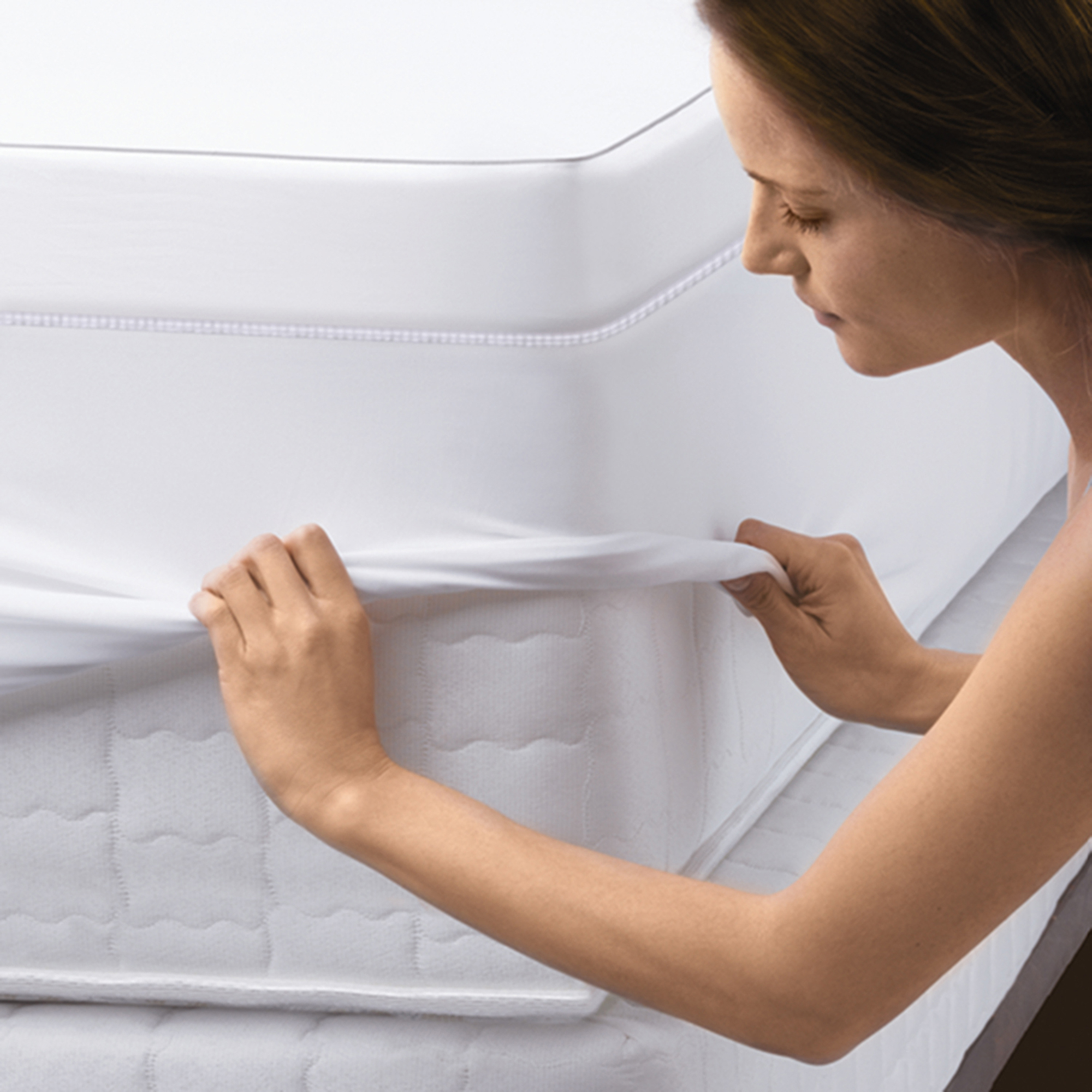 "Sleep Innovations SureTemp Sculpted Memory Foam 3"" Mattress Topper -  Walmart.com"