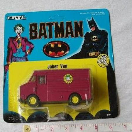 Batman Huge Joker Van Die Cast - Batman Joker Van