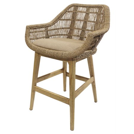 Leia Rattan Counter Stool ()