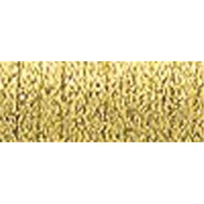 Very Fine Metallic Braid No. 4 11 Meters -12 Yards-Citron