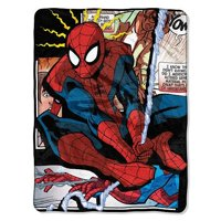 Marvel Spiderman Origins Micro Raschel Throw