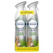Febreze Air Effects Heavy Duty Pet Air Freshener Spray, 2 Pk, 8.8 Oz