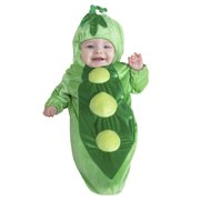 Infant Peapod Bunting One Size Dress Up / Role Play Costume