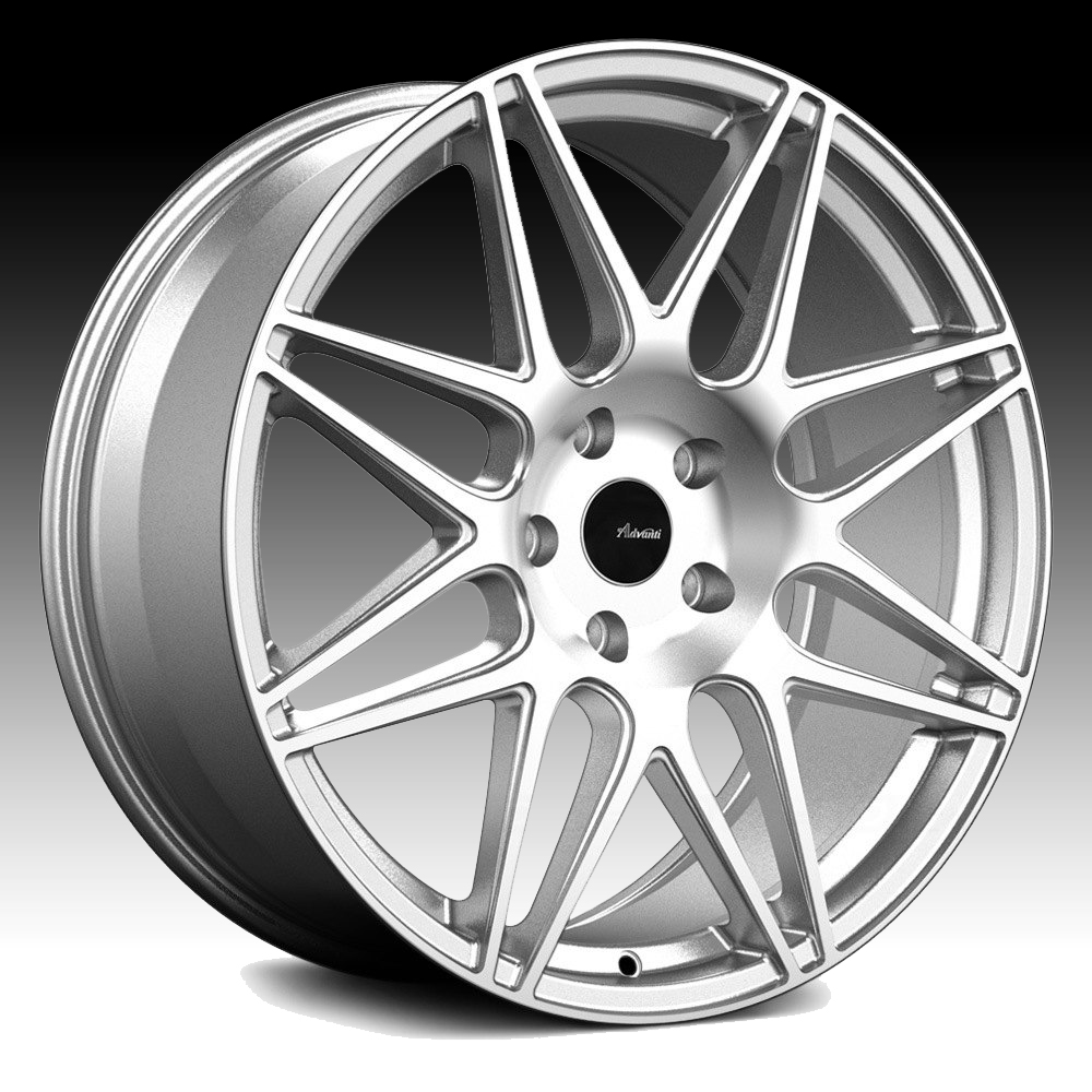 Advanti Racing CL Classe Machined Silver 18x8 5x100 35mm (CL8851035S)