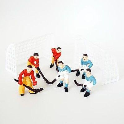 Team Umizoomi Cake (Hockey Team Cake Topper with Goal Nets and 2 Teams DIY)