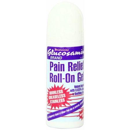 Glucosamine Pain Relief Roll On Gel 3 Oz (85g)