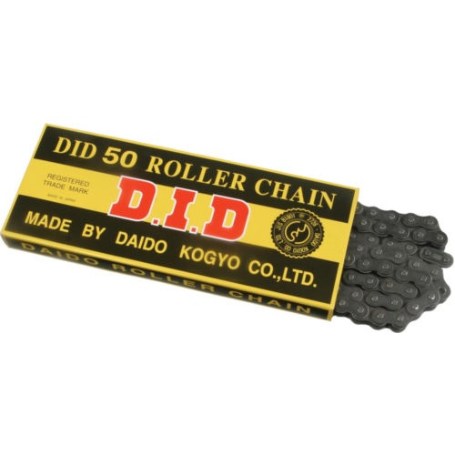 DID Standard 530 Chain 102 Links Natural for Street Motorcycle