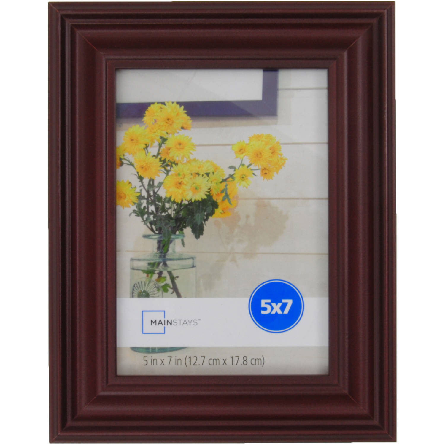 MS 5X7 Traditional White Picture Frame
