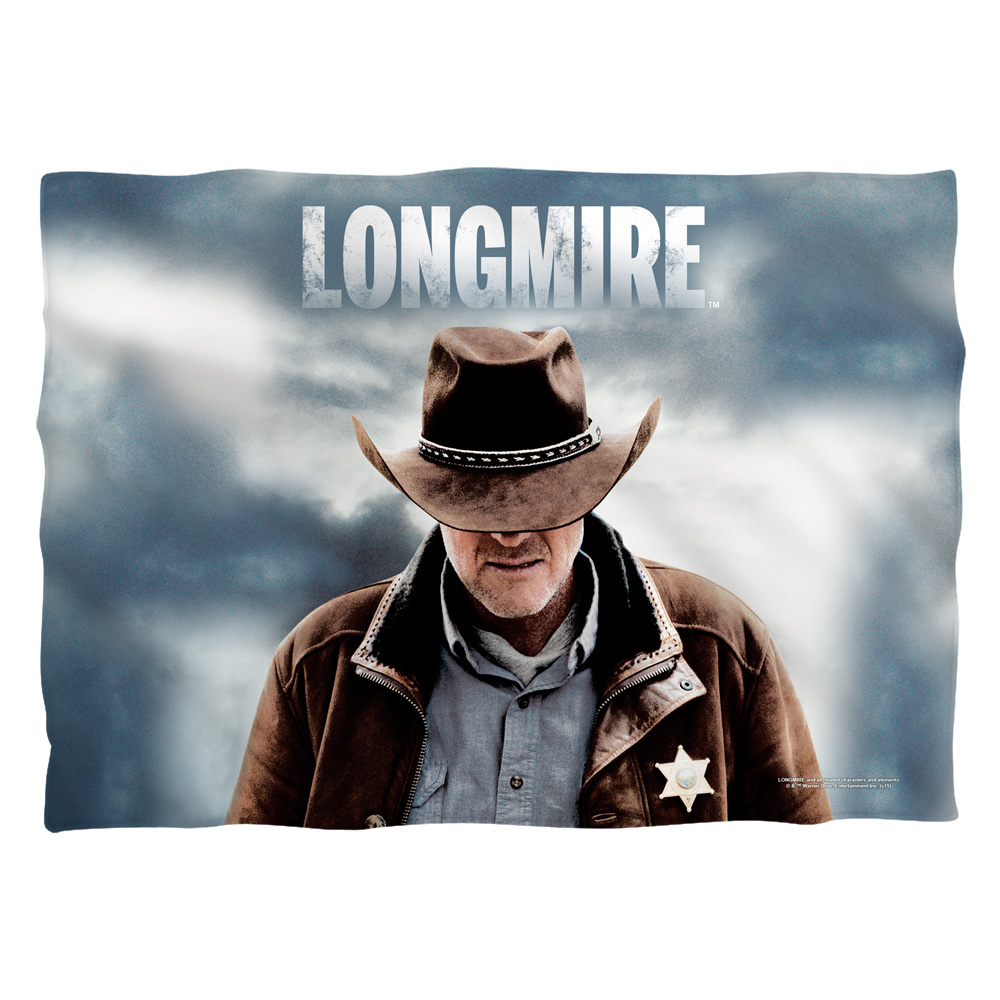 Longmire Sheriff Poly 20X28 Pillow Case White One Size