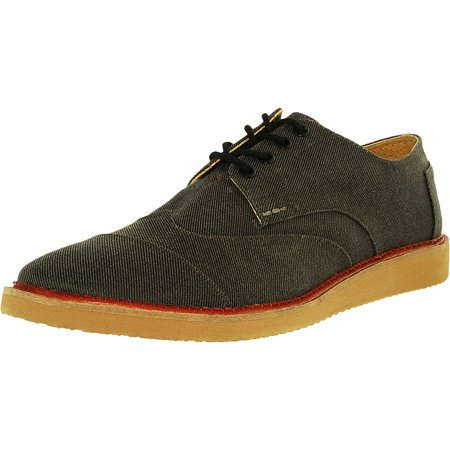 7d7b0956bb9 Toms - Toms Men s Brogue Twill Ash Aviator Ankle-High Canvas Fashion  Sneaker - 10M - Walmart.com