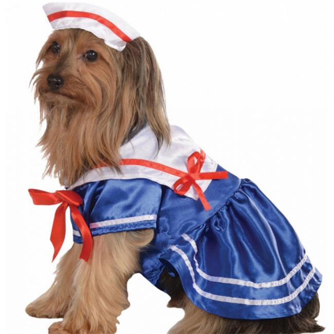 Costumes for all Occasions RU887814MD Pet Costume Sailor Girl Md