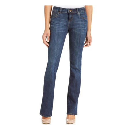 Kut From The Kloth Womens Natalie High Rise Bootcut Jeans Blue