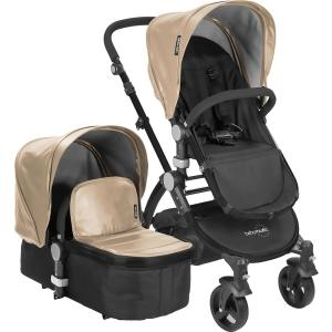 Babyroues LeTour II Travel System Stroller, Tan Leatherette by Babyroues