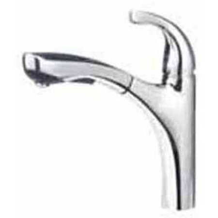 - Blanco 441503 Hiland Pullout Spray Kitchen Faucet, Available in Various Colors