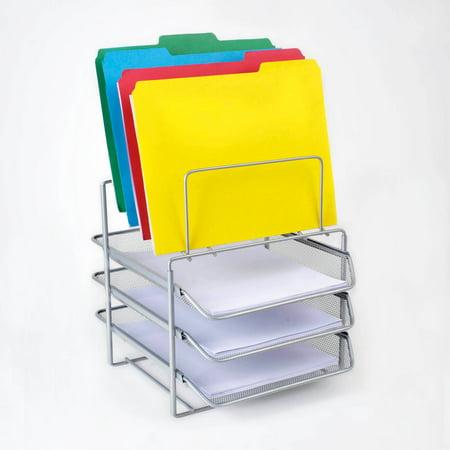 file organizer silver walmartcom With document organizer walmart