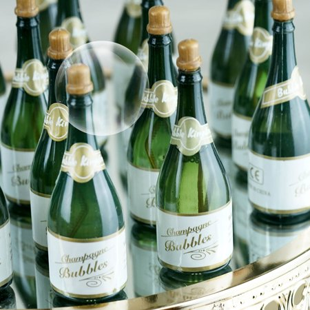 BalsaCircle 24 pcs 1 oz Green Small Champagne Bubble Favors - Wedding Party Event Gifts Decorations Accessories Supplies Wholesale](Wholesale Party)