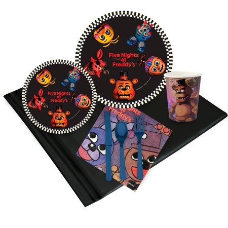 Five Nights at Freddy's 16 Guest Party Pack (Ladies Night Party Ideas)