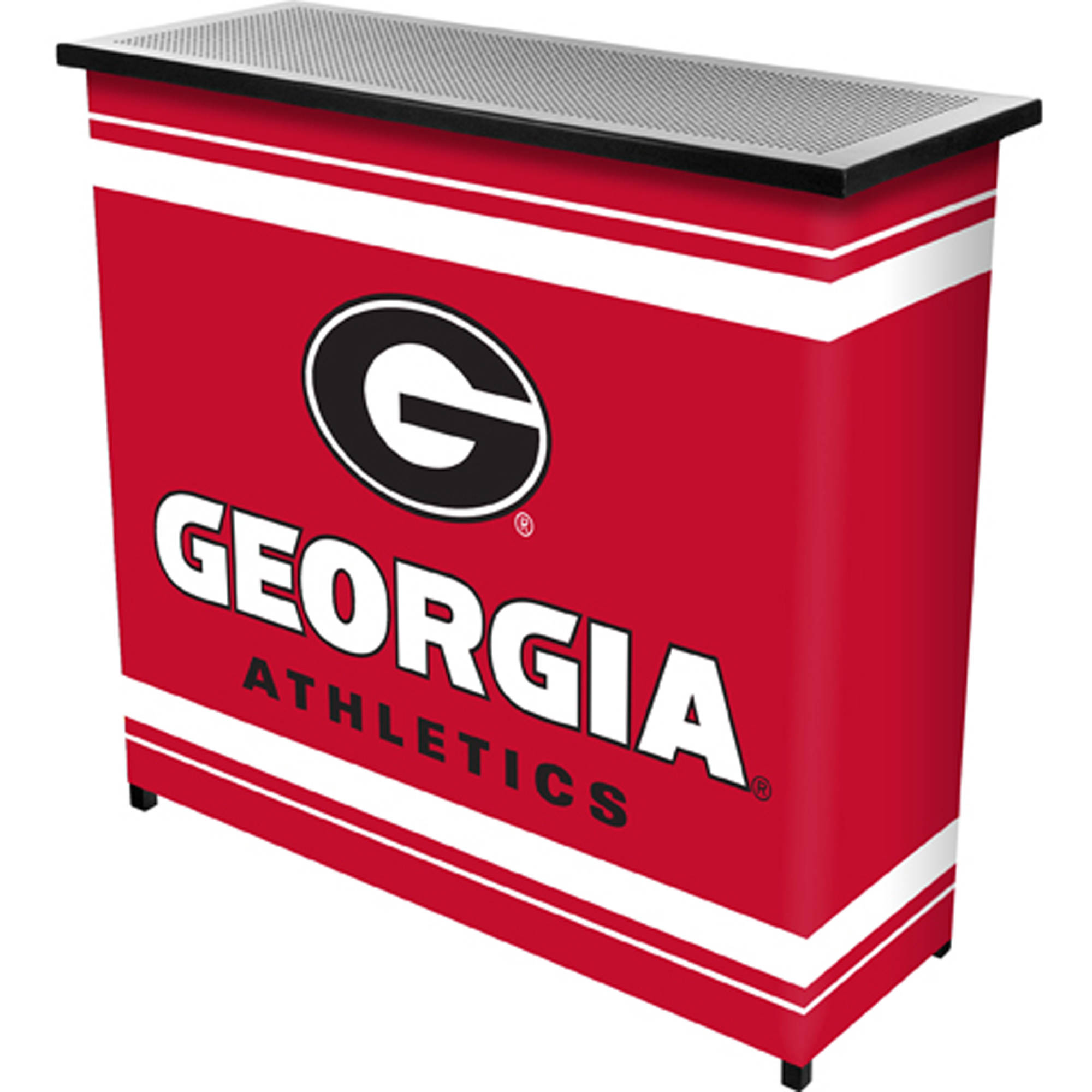 University of Georgia Portable Bar with Carrying Case