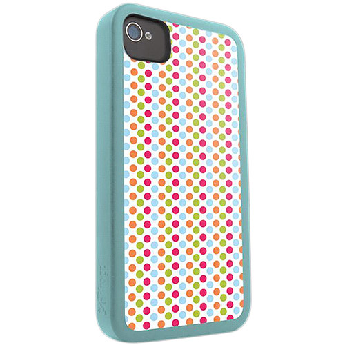 ifrogz iPhone 4/4S Cover, Polka Dots