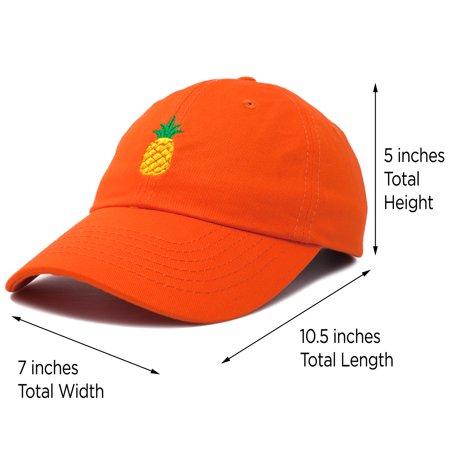 DALIX Pineapple Dad Hat Cotton Twill Baseball Cap Premium Stitched Light  Pink - Walmart.com 4375b4426005