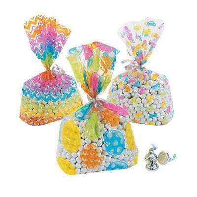 IN-13680642 Easter Cellophane Bag Assortment Per Dozen 4PK