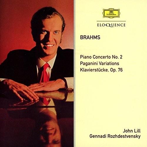 Brahms: Piano Concerto 2 / Paganini Variations