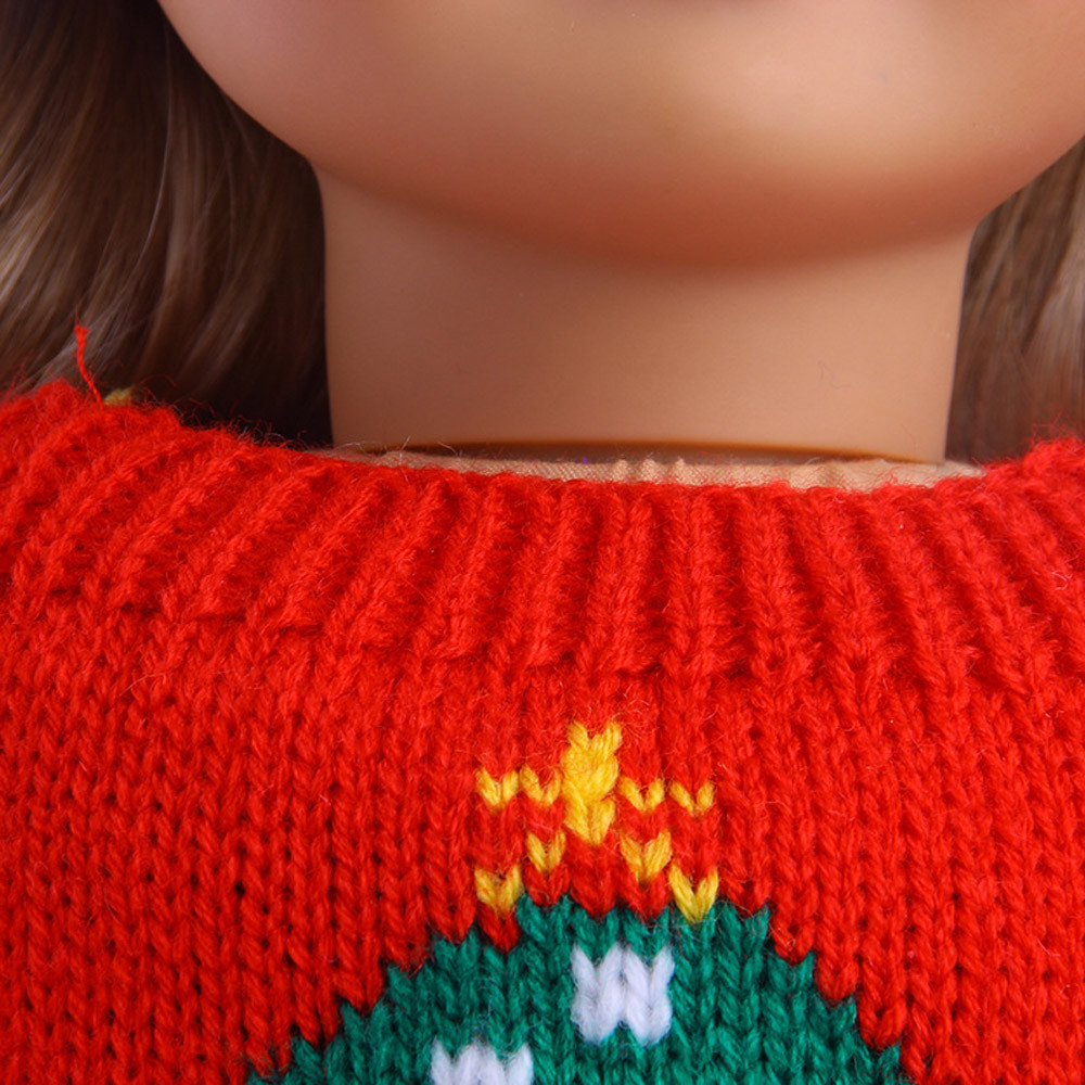 Cute Sweaters Clothes Outfits Skirt For 18 inch Our Generation American Girl Doll