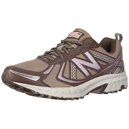 New Balance Women's 410v5 Cushioning Trail Running Shoe, Latte/Macchiatto/Himalayan Pink, 7 B