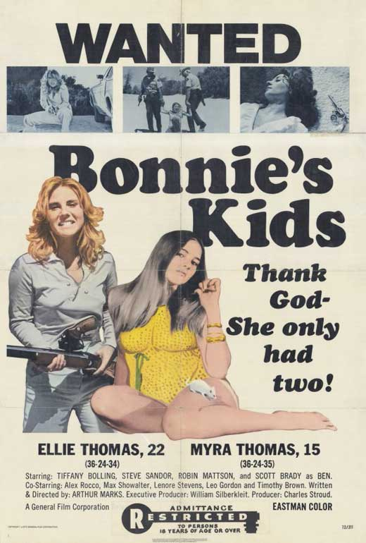 Bonnie's Kids POSTER Movie (27x40) by