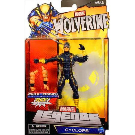 Marvel Wolverine Marvel Legends Puck Series Cyclops Exclusive Action Figure