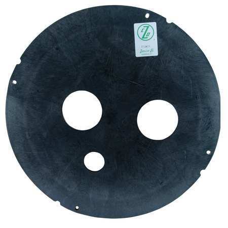 ZOELLER 17-0411 Sewage Basin Cover, Vent 2 or 3 In