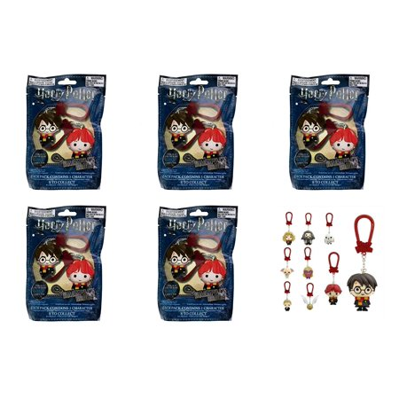 Paladone Products Ltd. Harry Potter Backpack Buddies 5 Packs (Harry,Ron, Hermione, Draco, Dobby, - Hermione Bag