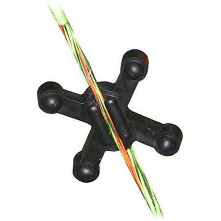 BowJax SlipJax String Silencer, Black, 4pk - Archer Shoes
