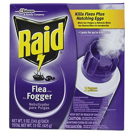 Raid Flea Fogger - Kills Fleas Plus Hatching Eggs For Up To 4 Months 3