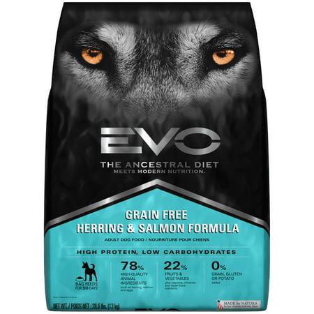 Image of EVO Ancestral Diet Grain-Free Herring & Salmon Formula Dry Dog Food, 28.6 lb