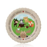 Woodland Creatures - Party Dessert Plates (8 count)