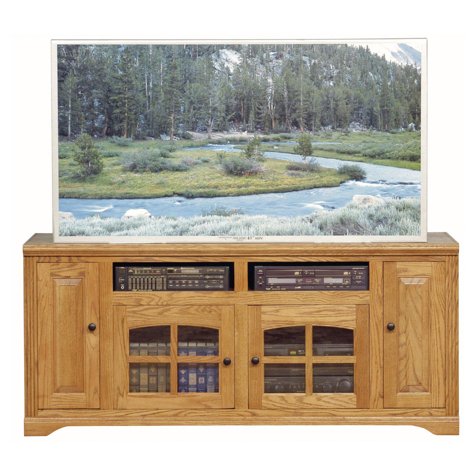 Eagle Furniture Oak Ridge Customizable 66 in. Entertainment Console