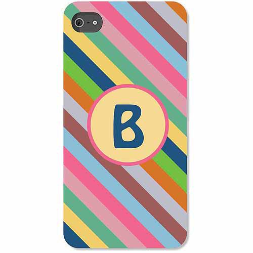 Personalized Colorful Stripes iPhone 4 Case