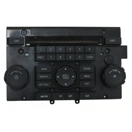 2008 Ford Escape Mercury Mariner Radio Control Panel Part Number 8L8T-18A802-AKW - Refurbished (Black Control Panel Assembly)