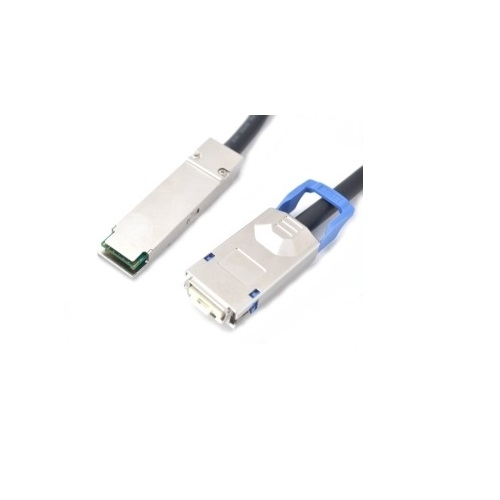 QSFP+ to CX4 Copper Cable - 1 Meter